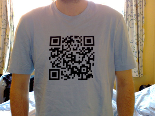 Qr code + fashion + community