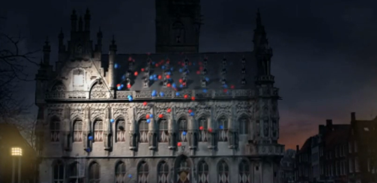 A collection of projection mapping examples