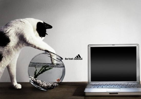 Adidas: Be fast