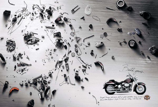 Brock Davis, art direction per Harley-Davidson