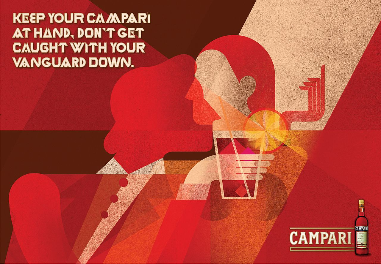 Campari revival advertising