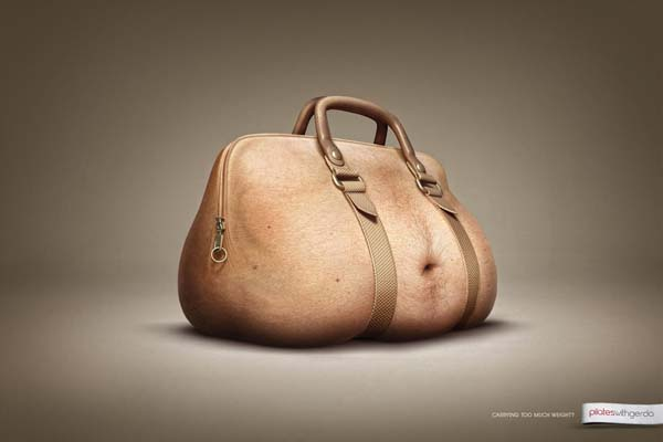 Idea e visual: 35 Print advertising