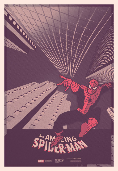 Limited Edition Amazing Spiderman Print.